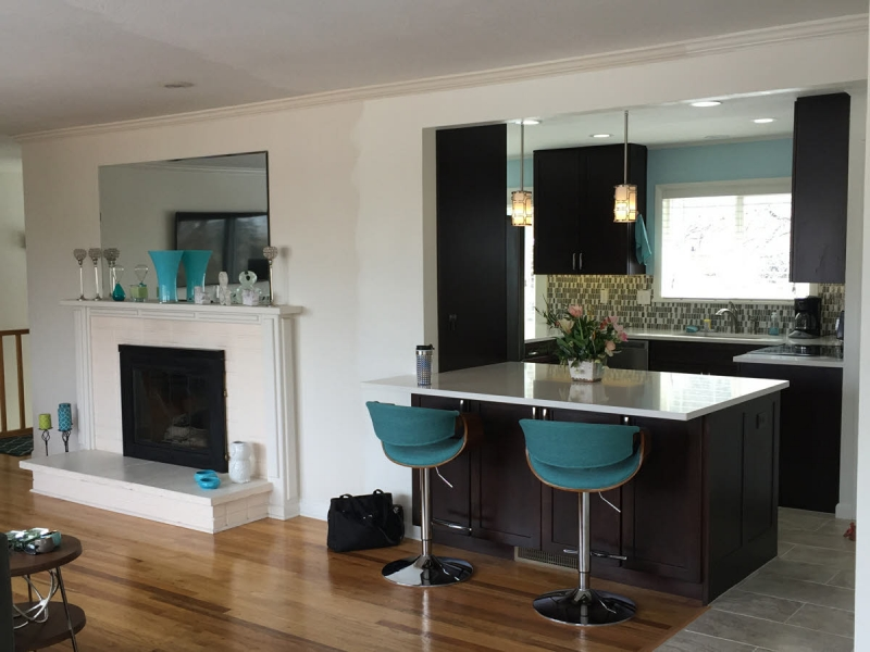 Boise Mid-Century Modern Style Kitchen & Bath Remodel