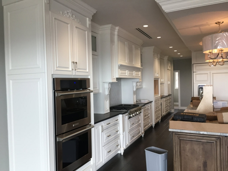 Warm Springs Colonial Kitchen Cabinet Installation
