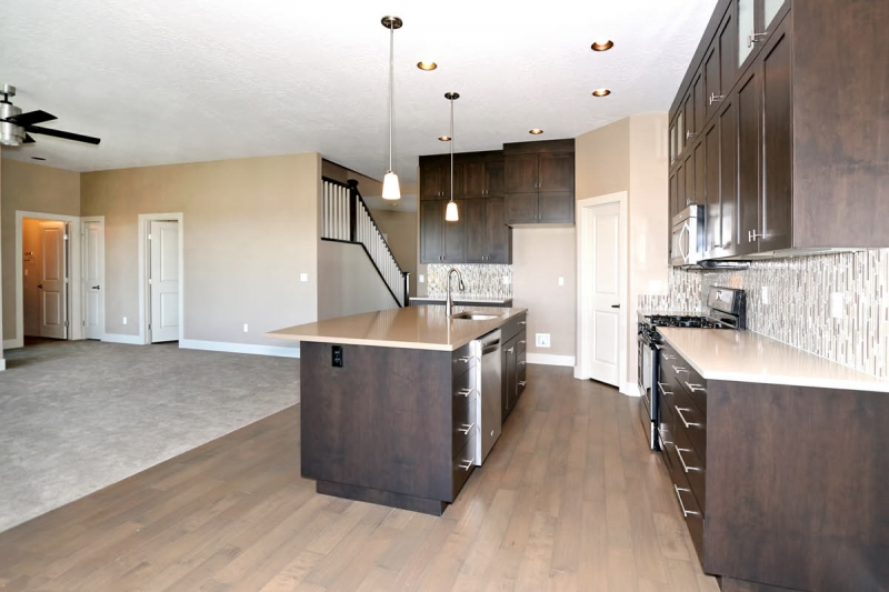 Custom cabinets for new home in Star, Idaho