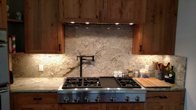 Eagle Kitchen - Custom Rustic Cherry Cabinets